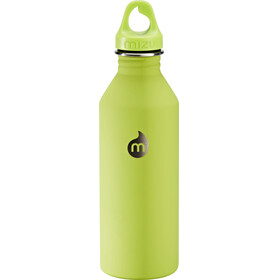 MIZU M8 Bottle with Lime Loop Cap 800ml green